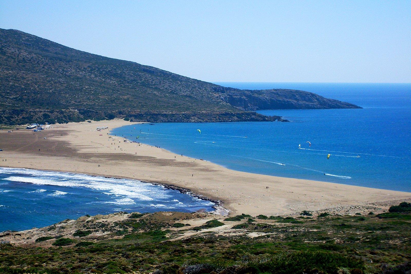 Слияние 2х морей на Родосе