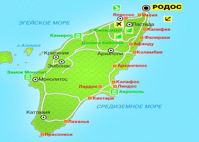 Где жить на Родосе