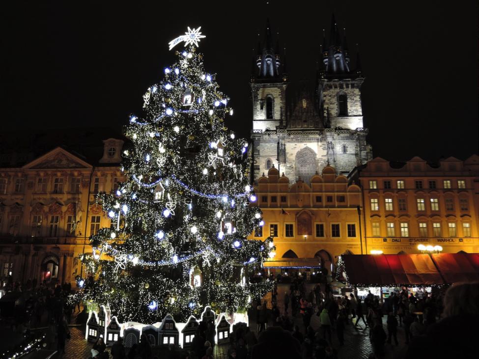 Новогодняя ярмарка в Праге