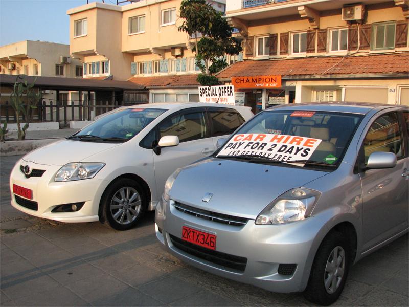 Прокатные машины на Кипре